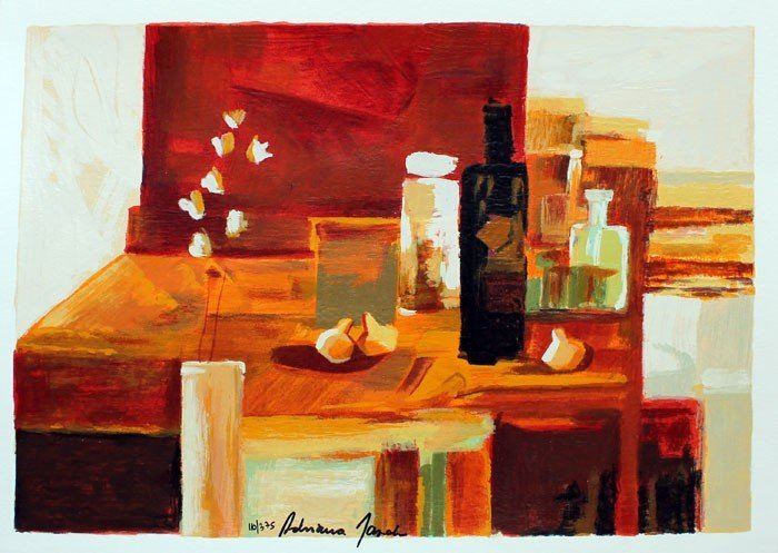 ADRIANA NAVEH - INTERIOR IN RED