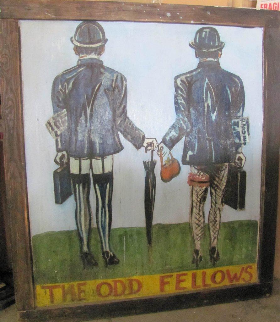 Rare Vintage English Pub Sign