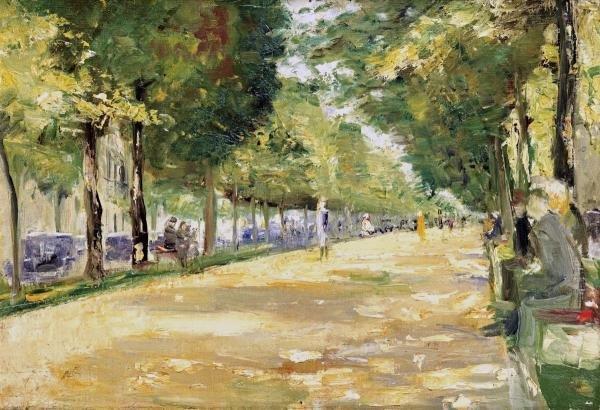 LESSER URY - THE TIERGARTEN PARK, BERLIN