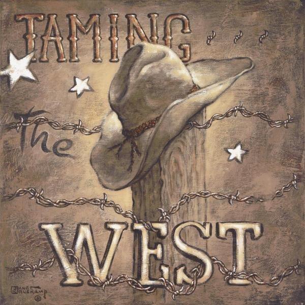 JANET KRUSKAMP - TAMING THE WEST