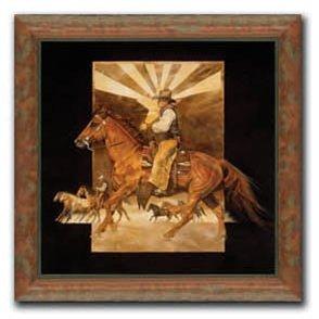 Daryl Poulin - Lone Star Cowboy 28x28