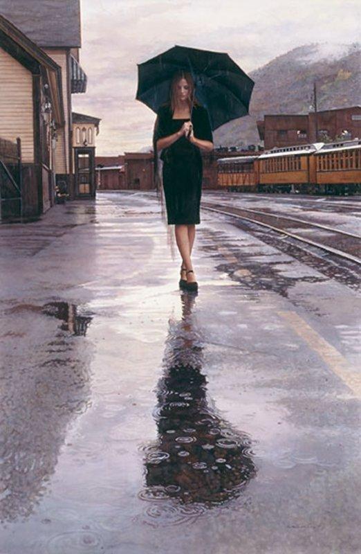 WAITING IN THE RAIN - STEVE HANKS