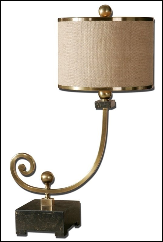 LANZADA BRONZE BUFFET LAMP