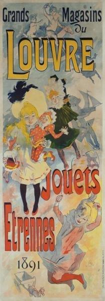 JULES CHERET - GRANDS MAGASINS DU LOUVRE/JOUETS,