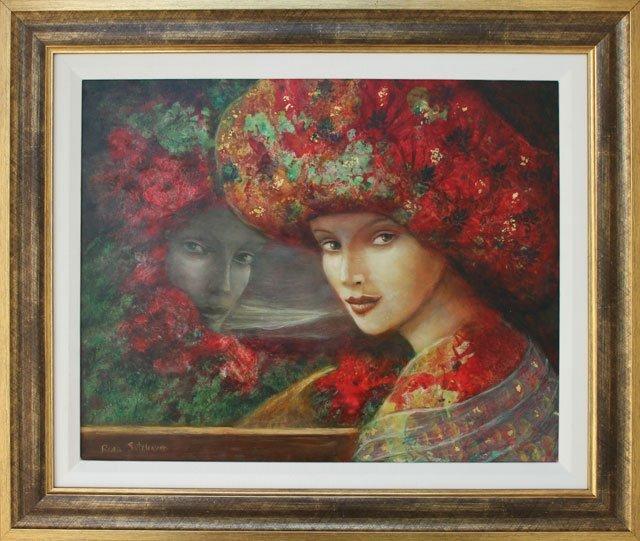 ORIGINAL RINA SUTZKEVER-AUTUMN LADY