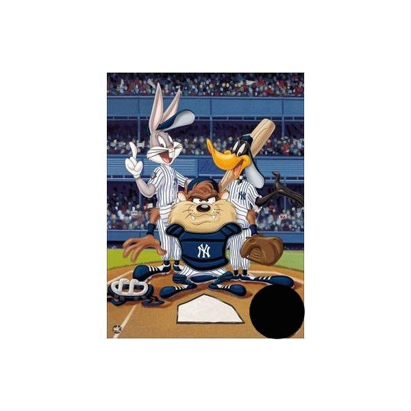 Warner Brothers - At the Plate - Yankees