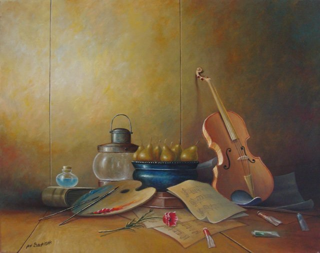 ORIGINAL AVI BELAISH - ARTISTIC CREATIVITY