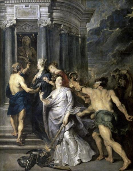 PETER PAUL RUBENS - PEACE OF ANGERS (LIFE OF MARIE DE