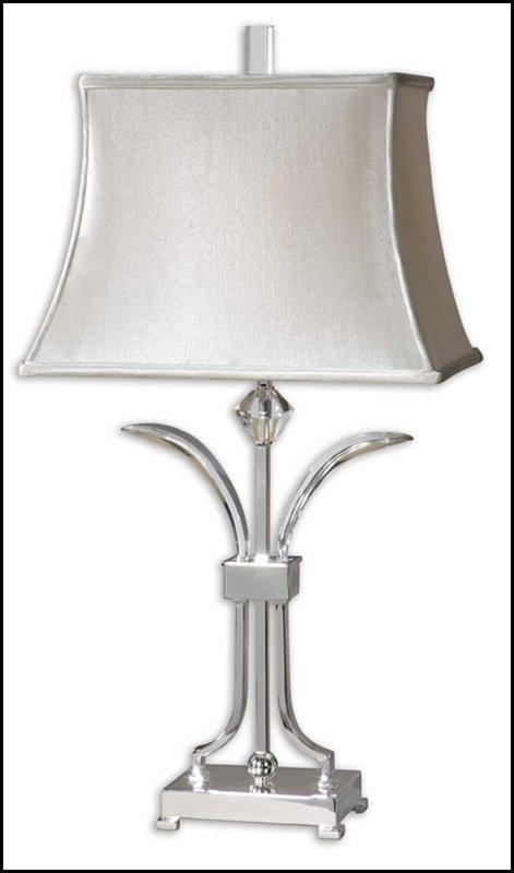 CAROVILLI NICKEL TABLE LAMP