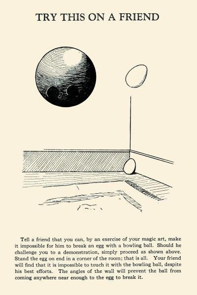 RETROMAGIC - TRY THIS ON A FRIEND - BOWLING BALL VERSUS