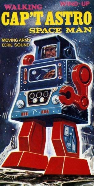 RETROBOT - CAP'T ASTRO SPACE MAN