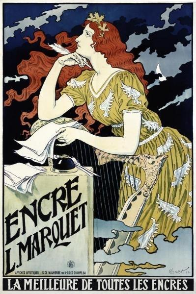 EUGENE GRASSET - ENCRE L MARQUET