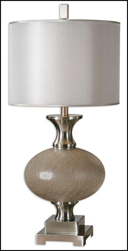 CREPITAVA CRACKLED GLASS LAMP