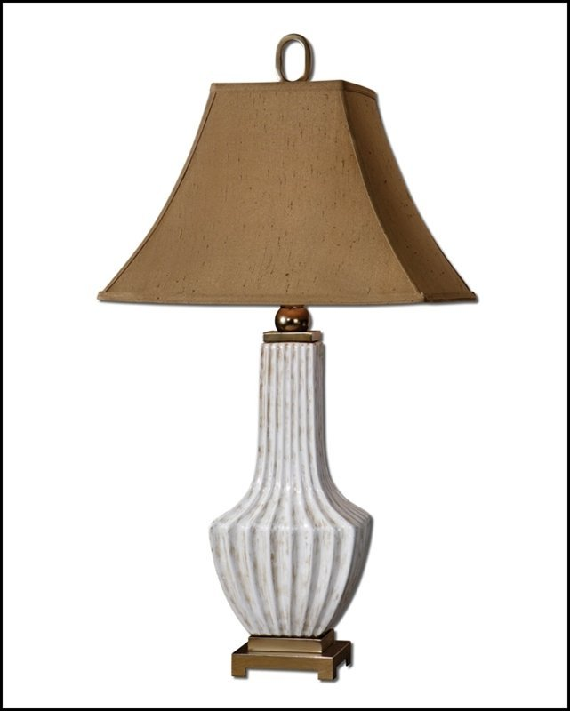 FORNACI WHITE TABLE LAMP