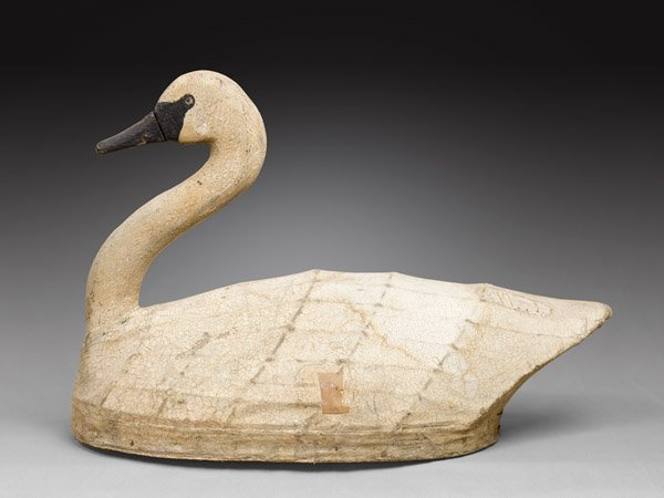 NC Canvas Swan by Robert Shaw