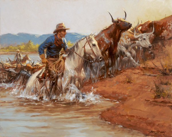 River Crossing by Andy Thomas