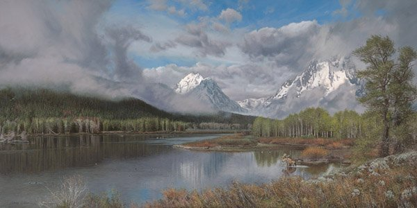 The Oxbow Bend by Phillip Philbeck