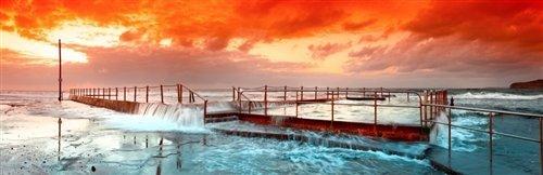 Sean Davey  - Mona Vale Sea Pool. NSW by Sean Davey