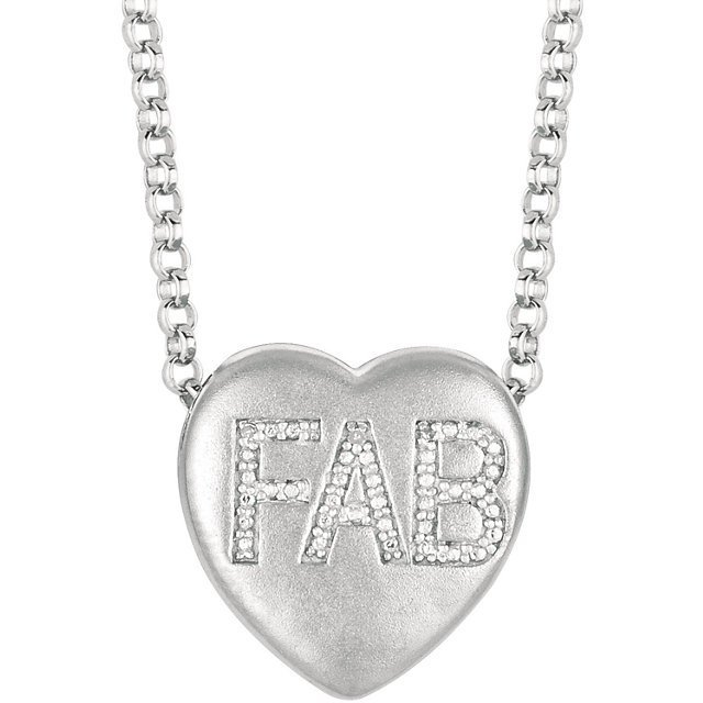 SWEETHEARTS HEART SHAPED NECKLACE