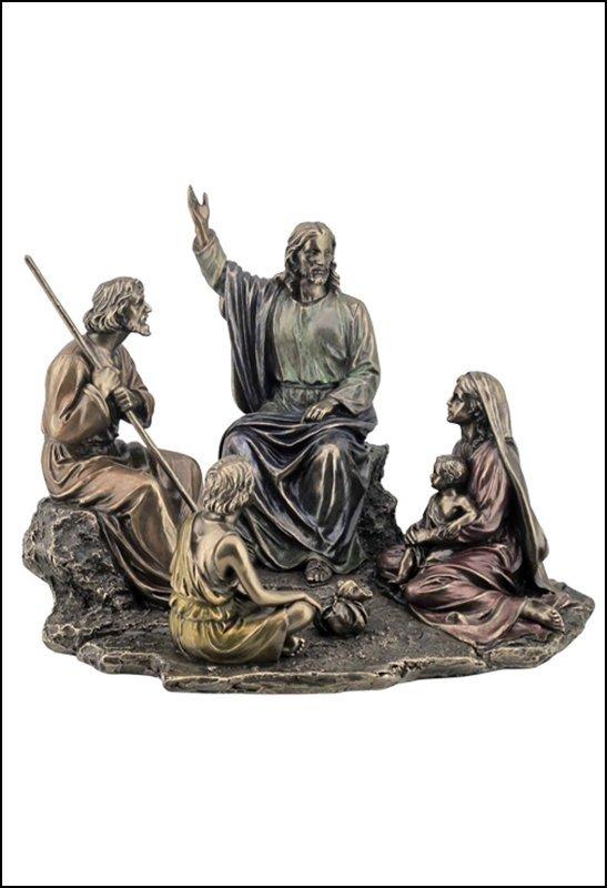 JESUS PREACHING - BRONZE