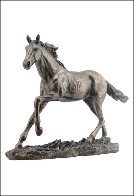GALLOPING HORSE  - BRONZE
