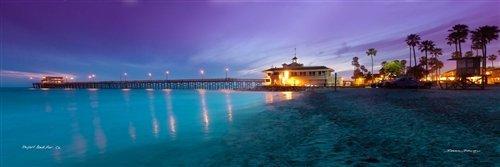 Sean Davey  - Newport Beach Pier by Sean Davey
