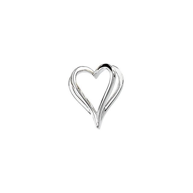 SHADOW HEART PENDANT SLIDE