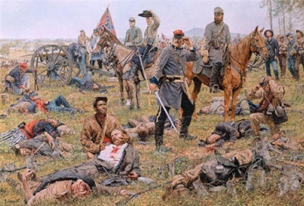 The Grim Harvest of War - The Valley Campaign by