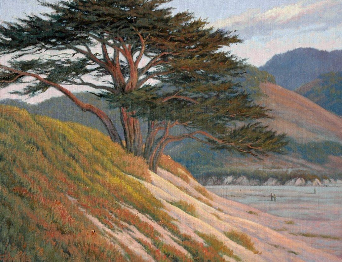 Original Charles White - Carmel Mission Pines 16x20