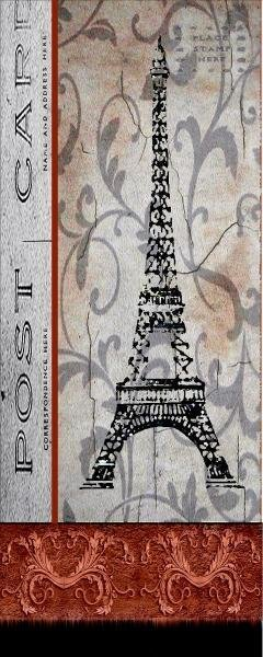 KAREN J. WILLIAMS - PARIS POSTCARD PANEL