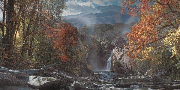 Smoky Mountain Grandeur - Mt. LeConte by Phillip
