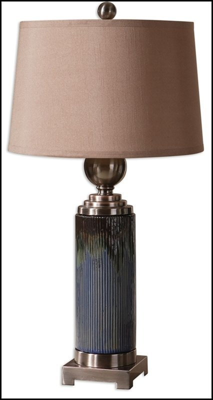 MONTAGANO RIBBED TABLE LAMP