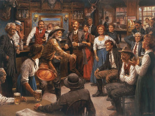 Tales of the Old West by Andy Thomas