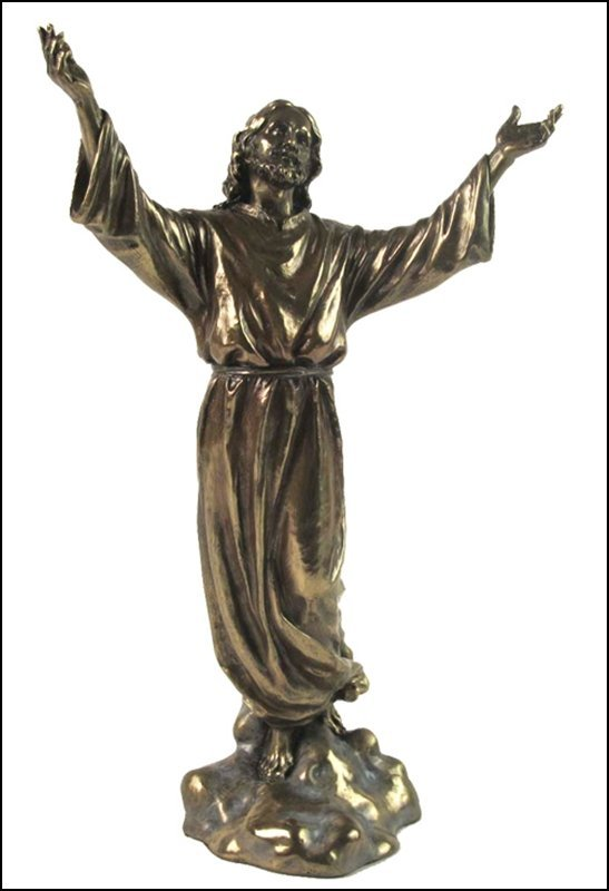 THE ASCENSION OF JESUS - BRONZE