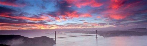 David Yu  - Golden Gate Sunrise by David Yu