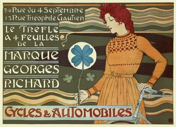 EUGENE GRASSET - MARQUE GEORGES RICHARD/CYCLES &