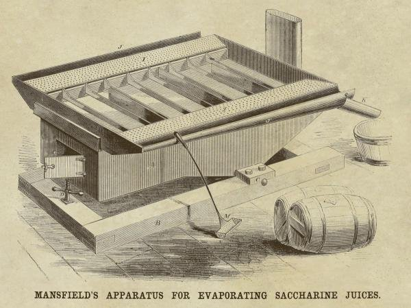 INVENTIONS - MANSFIELD'S APPARATUS FOR EVAPORATING