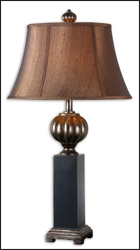 TAUNTON BLACK TABLE LAMP