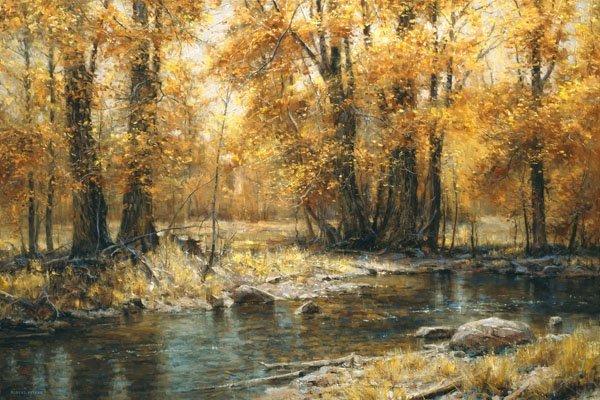 Autumn's Veil by Robert Peters