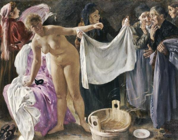 LOVIS CORINTH - THE WITCHES