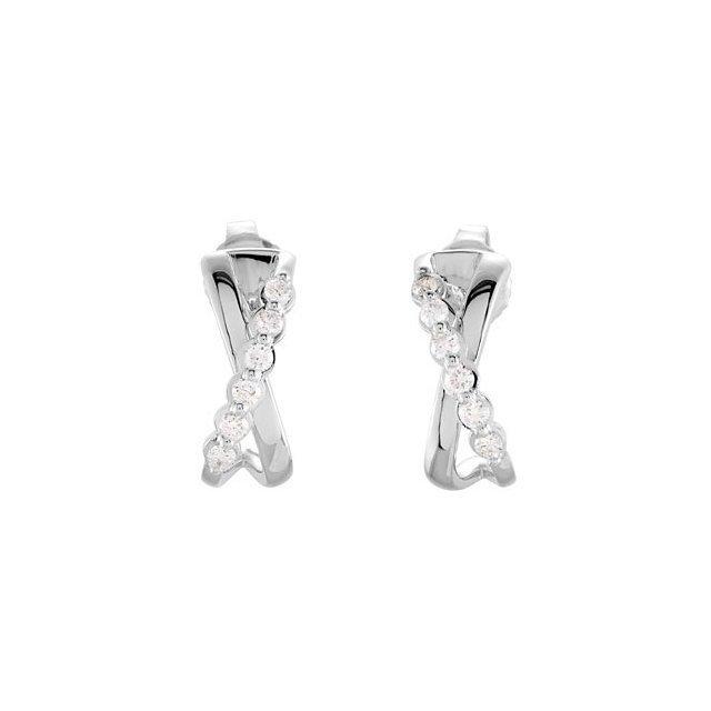1/4 CT TW DIAMOND EARRINGS