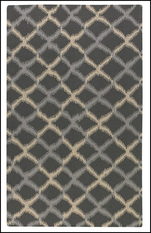 HARRINGTON 5 X 8 RUG - CHARCOAL