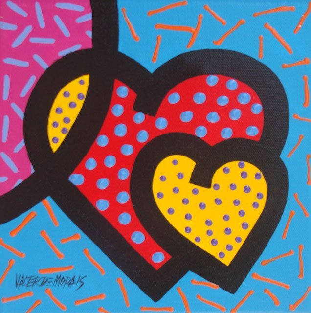 ORIGINAL VALTER MORAIS-HEART BEJEWELED