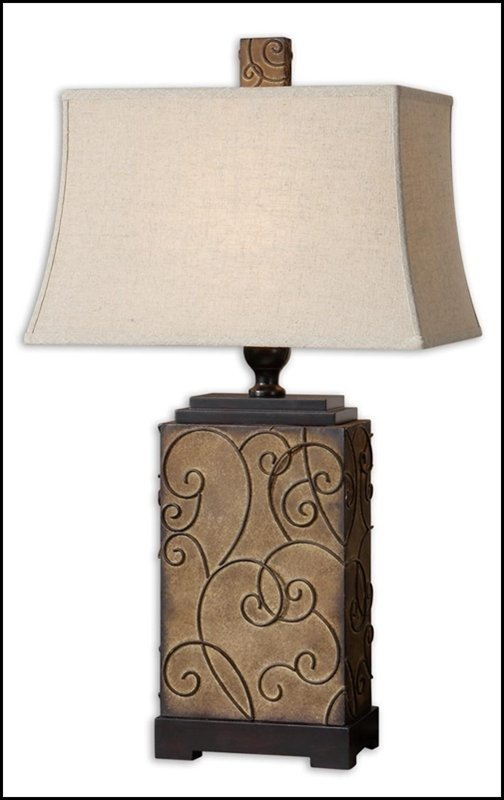 CALVINA METAL TABLE LAMP