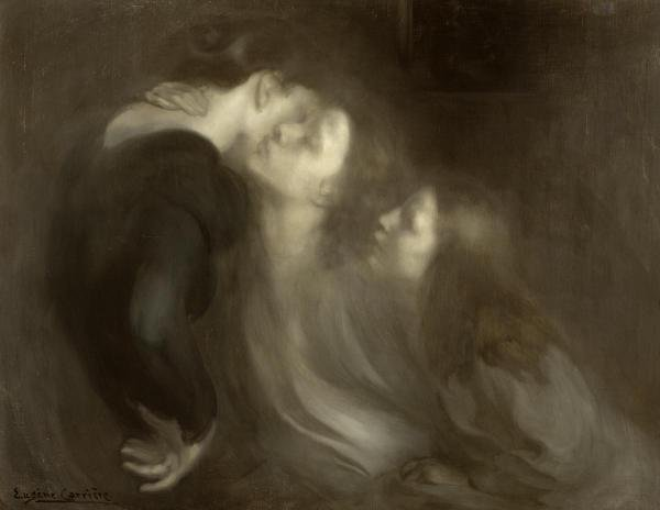 EUGENE CARRIERE - MOTHER'S KISS