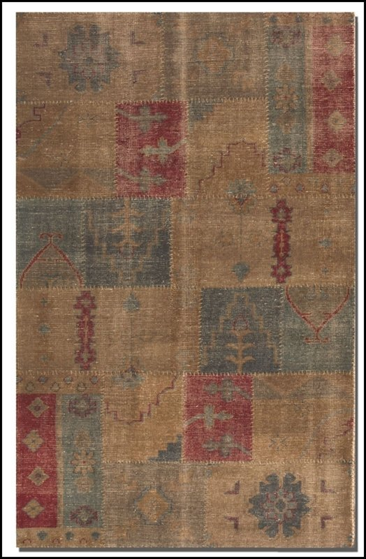 ANADOLU 6 X 9 WEATHERED RUG