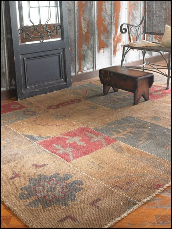 ANADOLU 6 X 9 WEATHERED RUG - 2