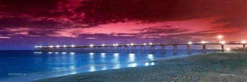 Sean Davey  - Hermosa Beach Pier by Sean Davey