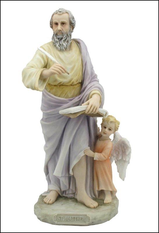 ST. MATTHEW THE EVANGELIST (LIGHT COLOR)