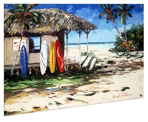 Joseph LaPierre - Surf Hut 18x24